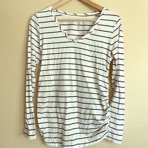 💋 Isabel Maternity L/S Top Size Small